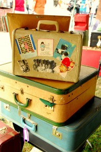 Pile of suitcases from your au pair