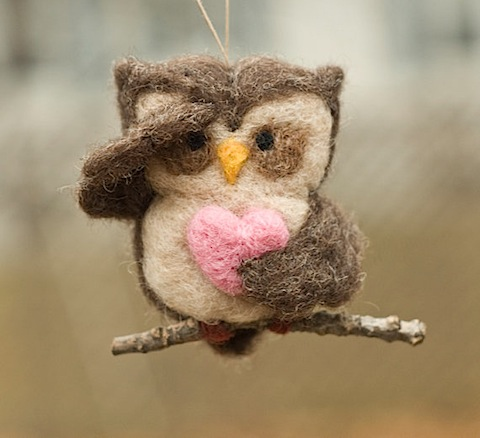 needlefelted owl ornament scratchcraft.jpg