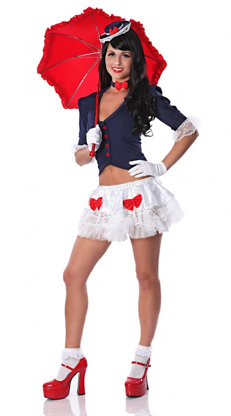 Sexy Mary Poppins Costume