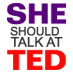 I've been nominated! I Should Talk at TED